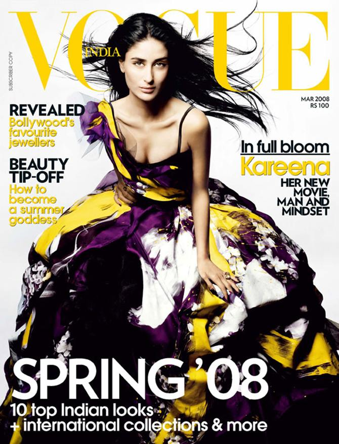 Kareena Kapoor on a Vogue cover