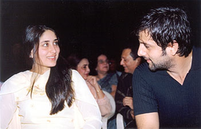 Kareena Kapoor with Fardeen Khan