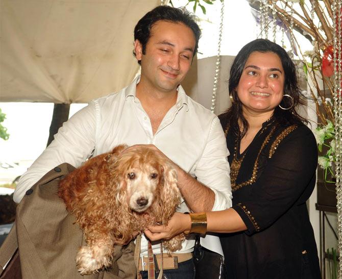Aditya Hitkari and Divya Palat