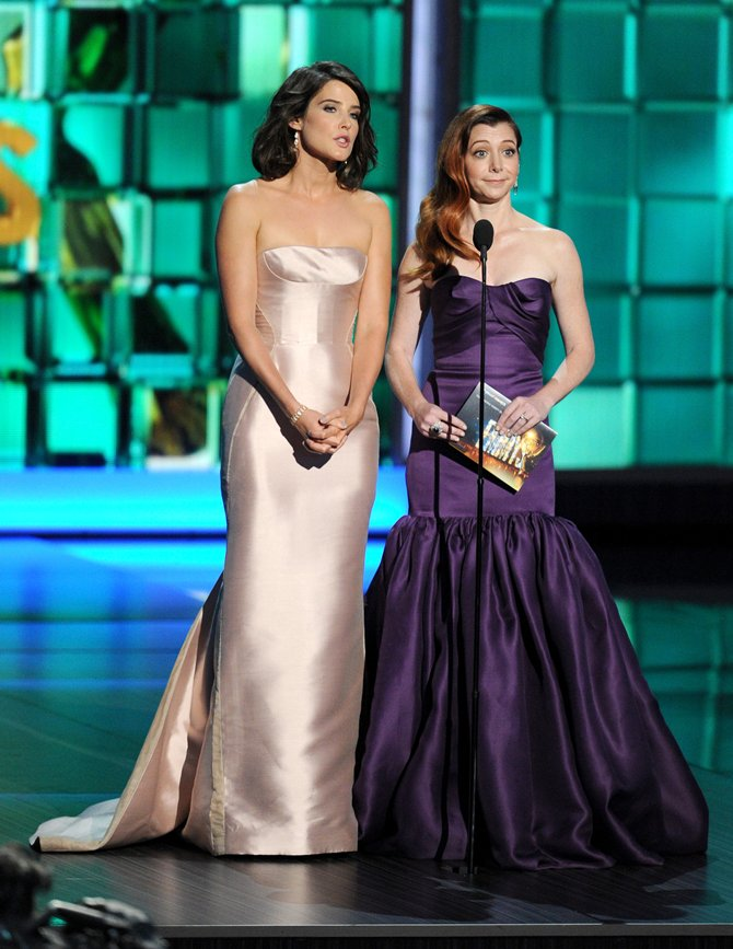 Cobie Smulders and Alison Hannigan