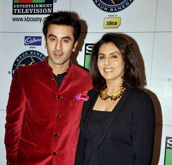 Ranbir and Neetu Kapoor