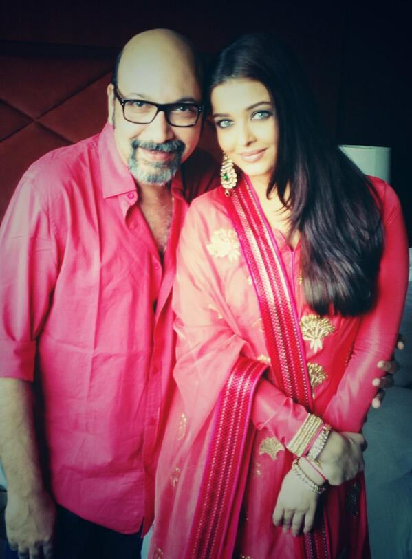 Aishwarya Rai Bachchan with Mickey Contractor