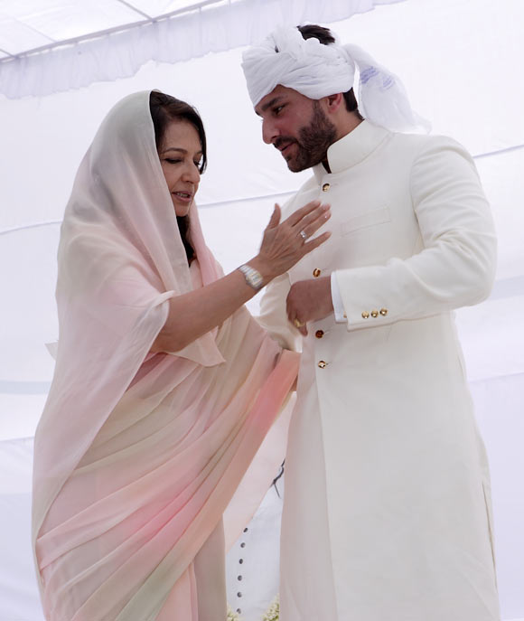 Sharmila Tagore and Saif Ali Khan