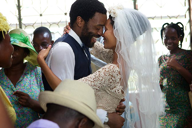 Chiwetel Ejiofor and Thandie Newton in Half of a Yellow Sun