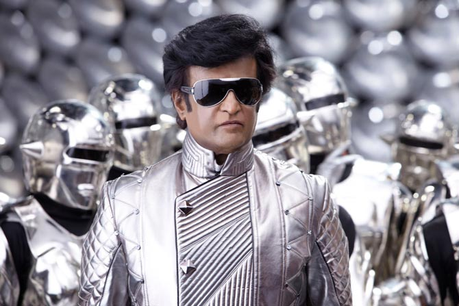 Rajinikanth in Robot