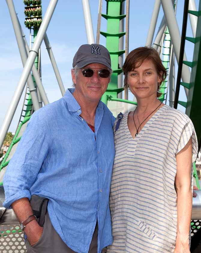 Richard Gere and wife Carey Lowell