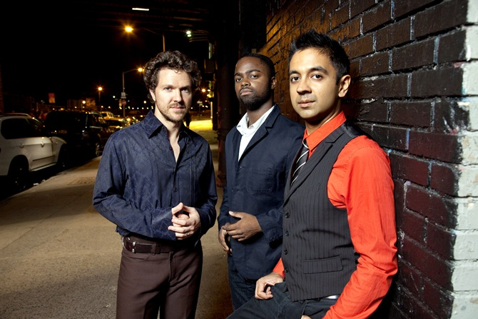 Stephan Crump, Marcus Gilmore and Vijay Iyer