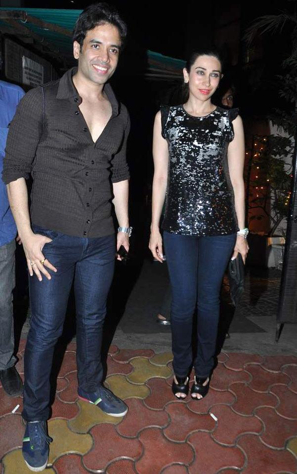 Tusshar Kapoor and Karisma Kapoor