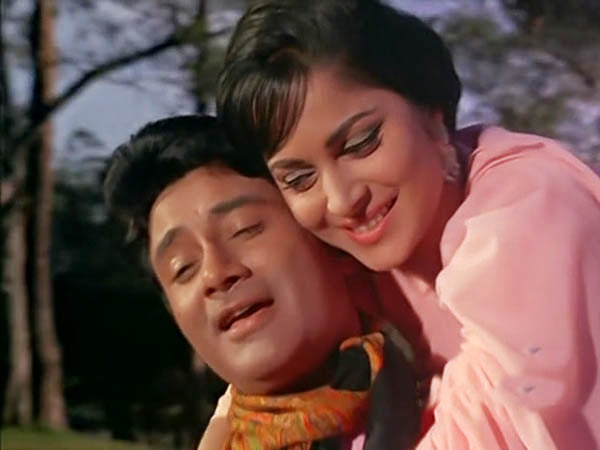 Dev Anand and Waheeda Rehman in Guide
