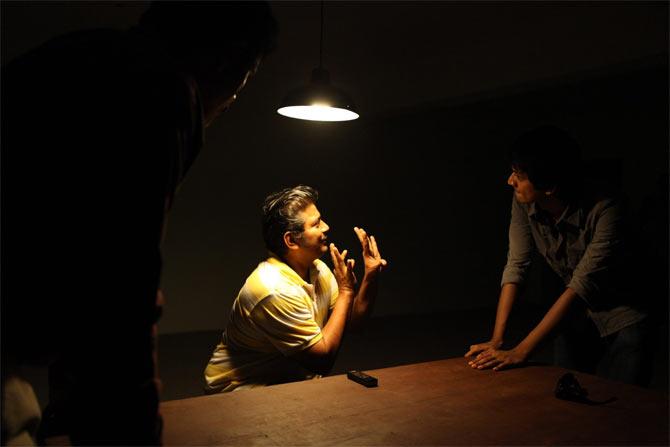 A scene from Onaiyum Aatukuttiyum