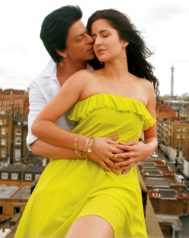 Shah Rukh Khan and Katrina Kaif in Jab Tak Hain Jaan