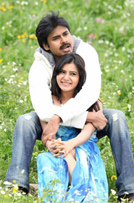 Pawan Kalyan and Samantha in Attarintiki Daaredi
