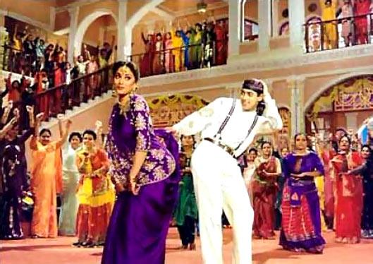 Madhuri Dixit and Salman Khan in Hum Aapke Hain Koun...!
