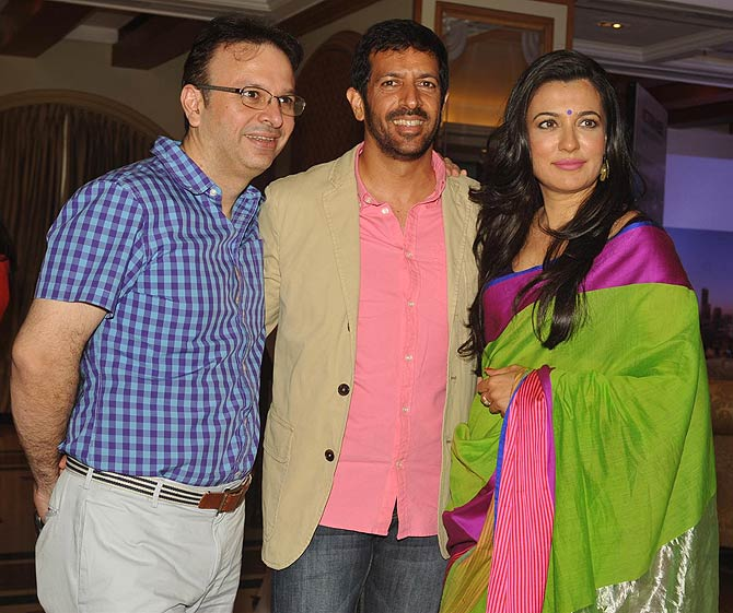 Roshan Abbas, Kabir Khan and Mini Mathur