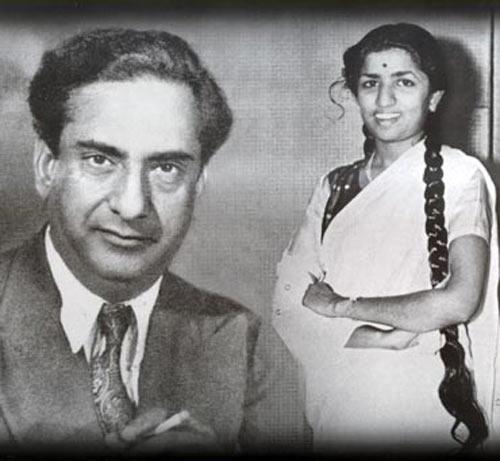 Ghulam Haider and Lata Mangeshkar