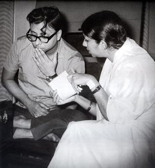 RD Burman and Lata Mangeshkar