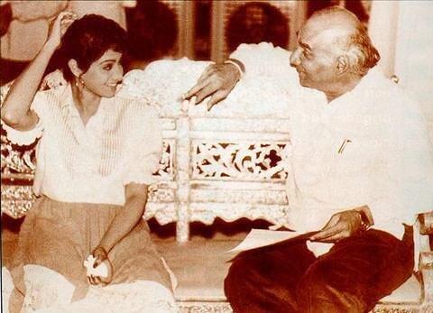 Sridevi and Yash Chopra