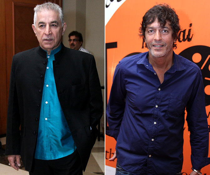 Dalip Tahil and Chunky Pandey