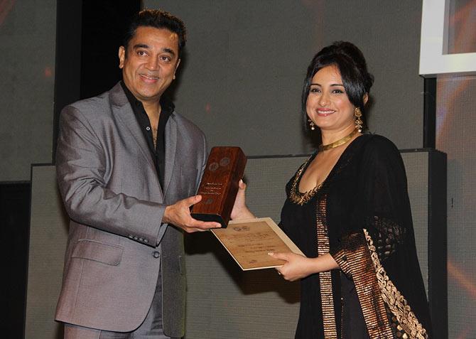 Kamal Haasan and Divya Dutta