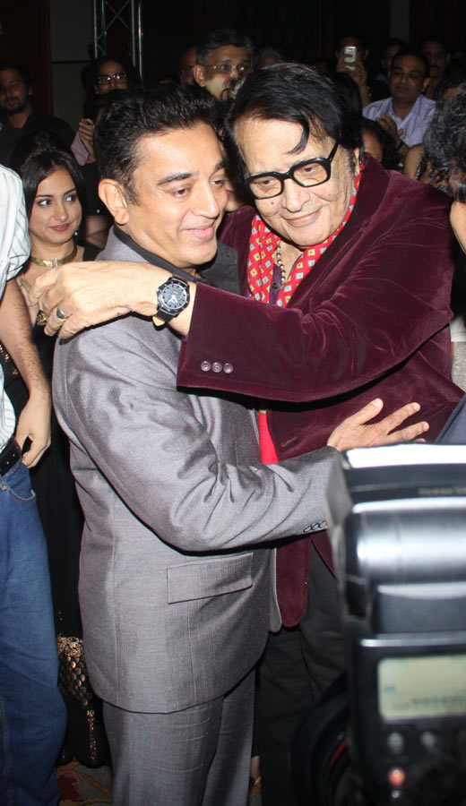Manoj Kumar and Kamal Haasan
