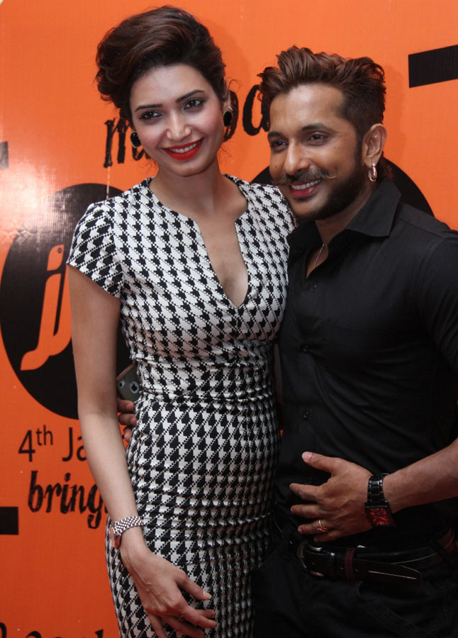 Karishma Tanna and Terrence Lewis