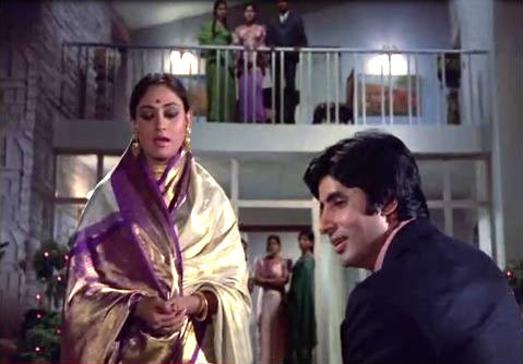 Jaya and Amitabh Bachchan in Abhimaan