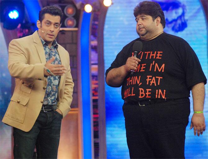 Salman Khan and Rajat Rawail