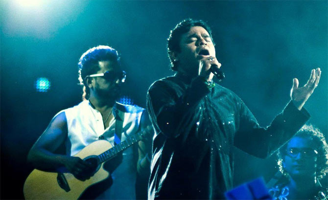 Sanjeev Thomas and A R Rahman