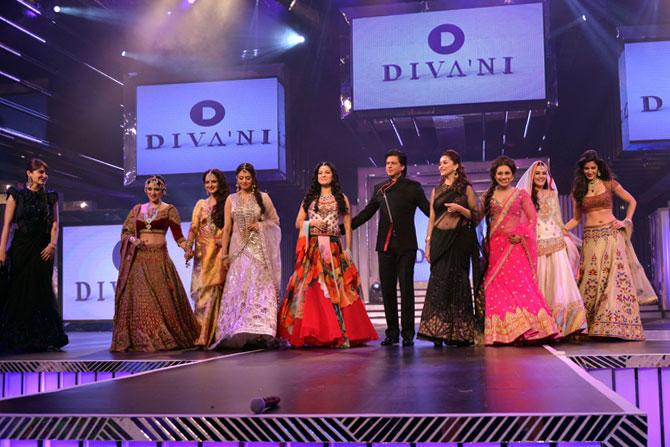 Anushka Sharma, Parineeti Chopra, Rekha, Sridevi, Juhi Chawla, Shah Rukh Khan, Madhuri Dixit, Rani Mukerji, Preity Zinta and Katrina Kaif