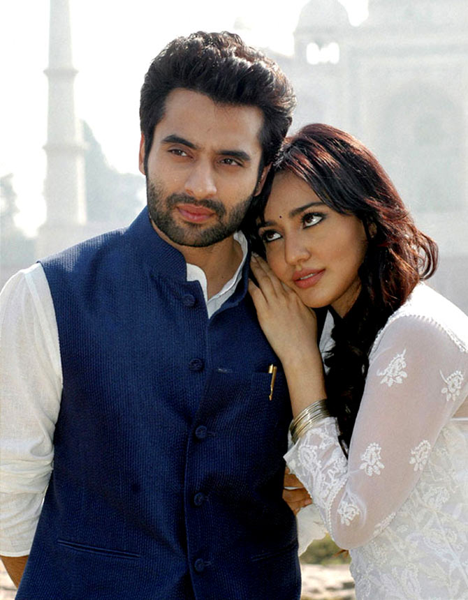Jackky Bhagnan and Neha Sharma in Youngistaan