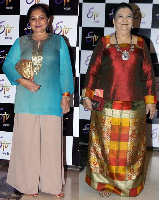Smita Jaykar and Bharati Achrekar