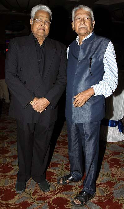 Viju Khote and Ramesh Deo