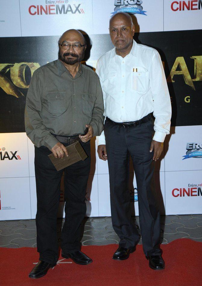 Govind Nihalani and Manmohan Shetty