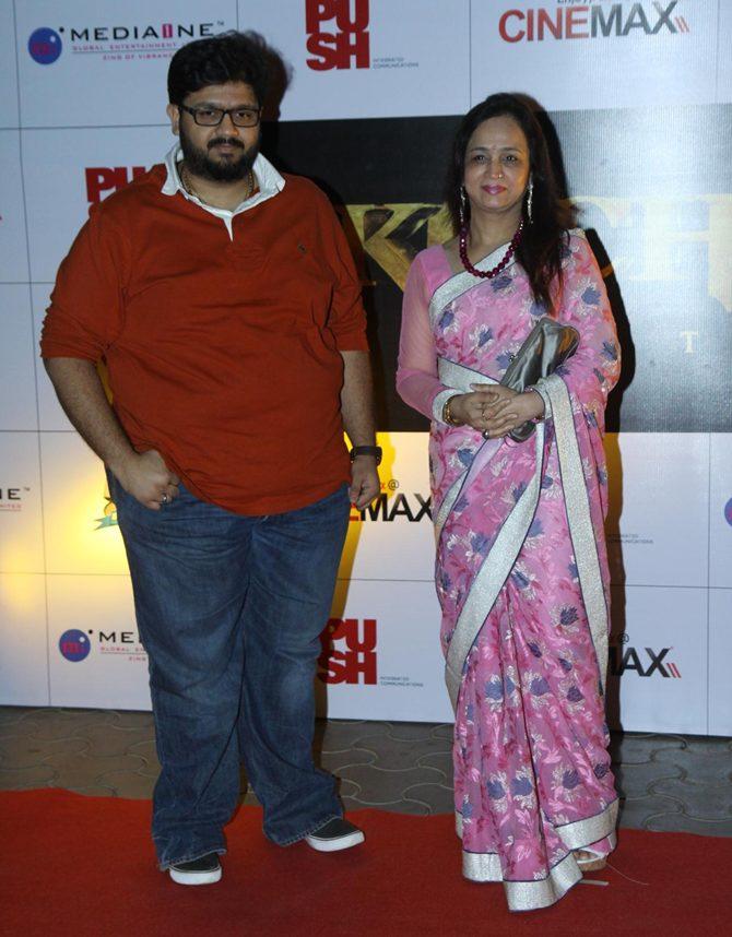 Rahul and Smita Thackeray