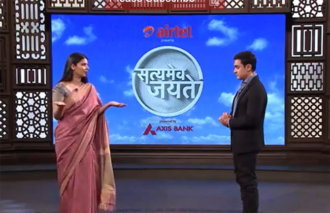 A scene from Satyamev Jayate 2, episode 4
