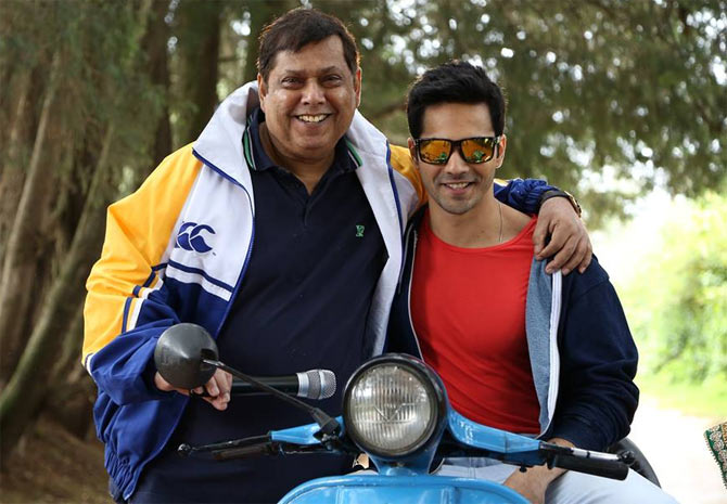 David and Varun Dhawan