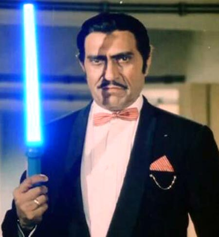 Amrish Puri in Iraada