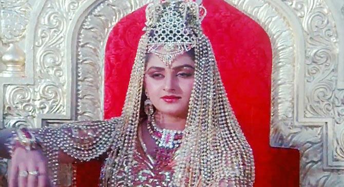 Jaya Pradha in Singhasan