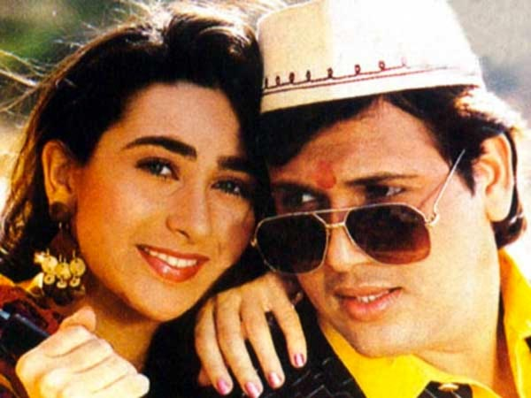 Karisma Kapoor and Govinda in Raja Babu