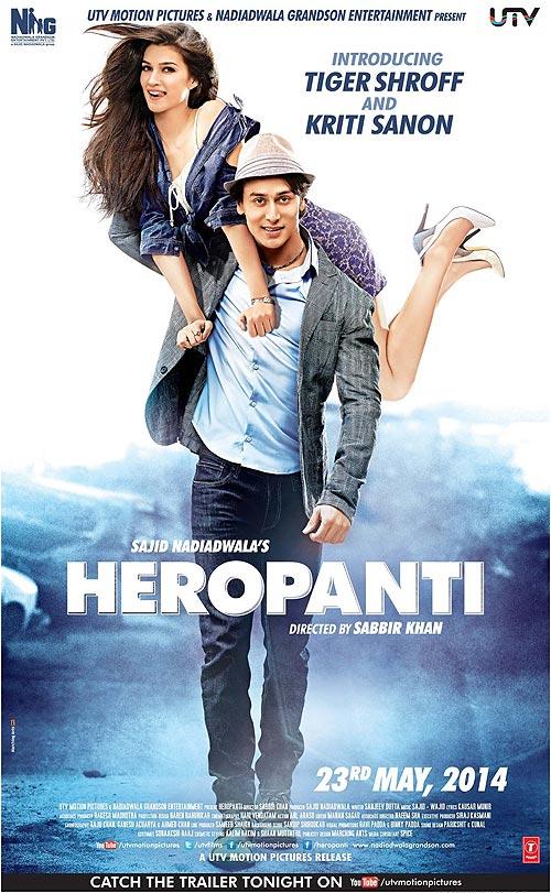 The Heropanti poster