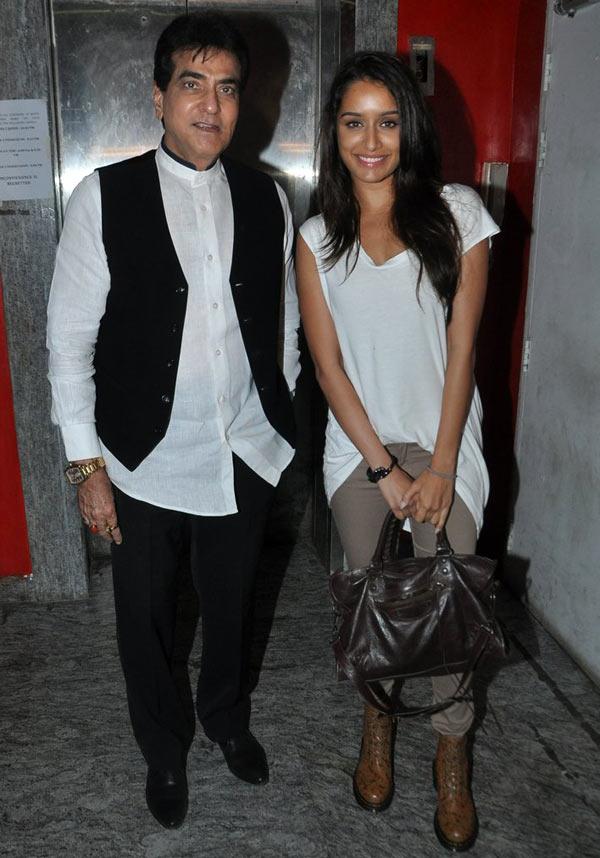Jeetendra, Shraddha Kapoor