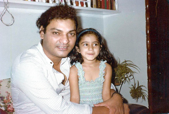 Shomu Mukherjee and Tanishaa