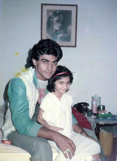 Kajol and Tanishaa's fabulous childhood pictures - Rediff ...