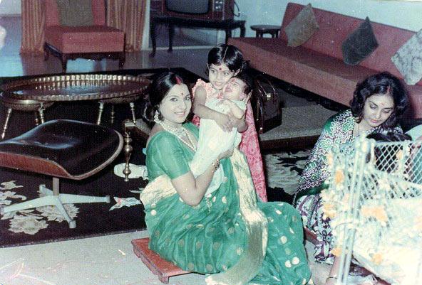 Tanuja, Tanisha and Kajol