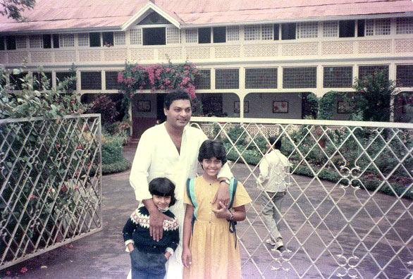 Tanishaa, Shomu Mukherjee and Kajol