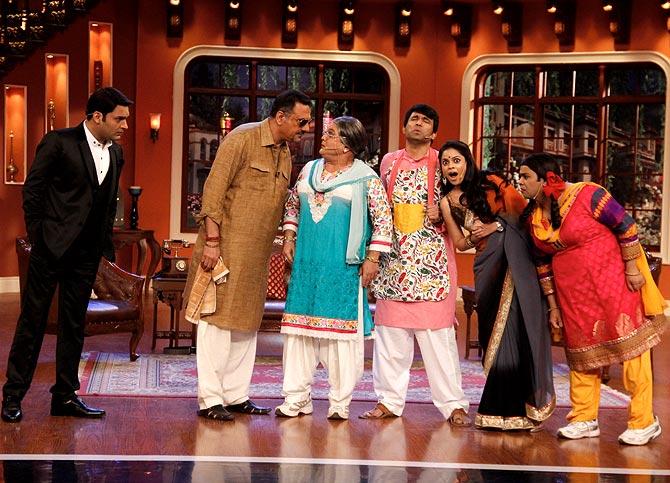 Kapil Sharma, Boman Irani, Asgar Ali, Sumona Chakravarti, Kiku Sharda