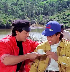Aamir Khan, Salman Khan in Andaz Apna Apna