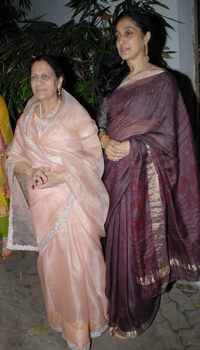 Zeenat Hussain and Nuzhat Khan