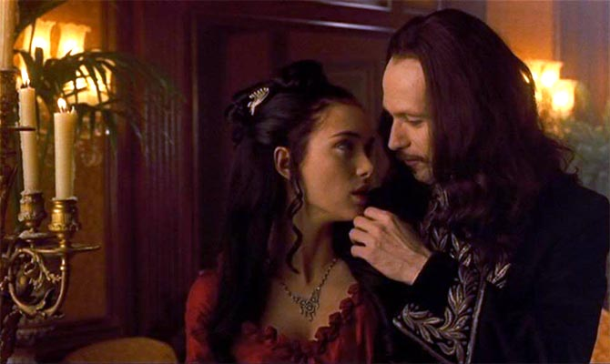 Winona Ryder and Gary Oldman in Bram Stoker's Dracula