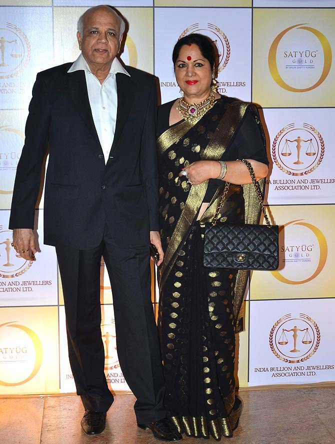 Surendra and Sunanda Shetty